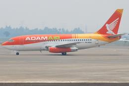 jun☆さんが、スカルノハッタ国際空港で撮影したアダム航空 737-2U4/Advの航空フォト(飛行機 写真・画像)