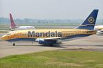 jun☆さんが、スカルノハッタ国際空港で撮影したマンダラ・エアラインズ 737-2E7/Advの航空フォト(写真)