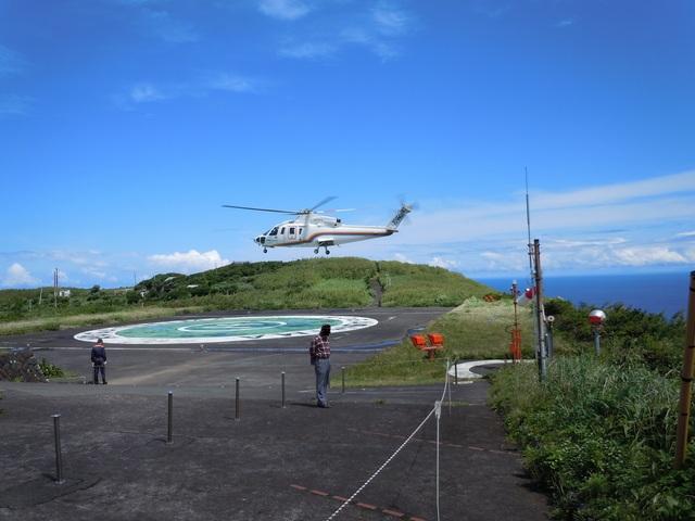 やすさんが、青ヶ島ヘリポートで撮影した東邦航空 S-76C+の航空フォト(飛行機 写真・画像)