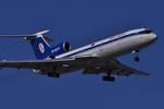 RUSSIANSKIさんが、アンタルヤ空港で撮影したベラヴィア航空 Tu-154Mの航空フォト(飛行機 写真・画像)