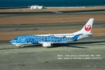 かみきりむしさんが、中部国際空港で撮影した日本トランスオーシャン航空 737-4Q3の航空フォト(写真)