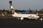 WING_ACEさんが、ダニエル・K・イノウエ国際空港で撮影したアラスカ航空 737-890の航空フォト(飛行機 写真・画像)