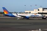 WING_ACEさんが、ダニエル・K・イノウエ国際空港で撮影したアレジアント・エア 757-204の航空フォト(飛行機 写真・画像)
