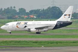jun☆さんが、スカルノハッタ国際空港で撮影したRPX・リパブリック・エクスプレス・航空 737-2K2C/Advの航空フォト(飛行機 写真・画像)