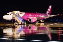 うえぽんさんが、関西国際空港で撮影したピーチ A320-214の航空フォト(写真)