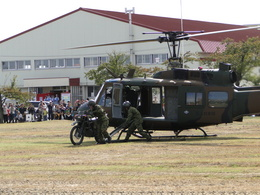 大和駐屯地で撮影された大和駐屯地の航空機写真