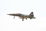 Booneさんが、新竹飛行場で撮影した中華民国空軍 F-5の航空フォト(飛行機 写真・画像)