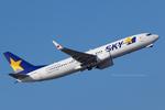 Scotchさんが、中部国際空港で撮影したスカイマーク 737-81Dの航空フォト(飛行機 写真・画像)