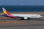 Scotchさんが、中部国際空港で撮影したアシアナ航空 767-38Eの航空フォト(写真)