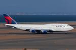 Scotchさんが、中部国際空港で撮影したデルタ航空 747-451の航空フォト(写真)