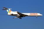 RUSSIANSKIさんが、アンタルヤ空港で撮影したグローバス航空 Tu-154Mの航空フォト(飛行機 写真・画像)