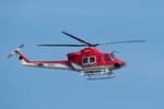 パンダさんが、成田国際空港で撮影した奈良県防災航空隊 412EPの航空フォト(飛行機 写真・画像)