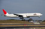 パンダさんが、成田国際空港で撮影した日本航空 777-346/ERの航空フォト(写真)