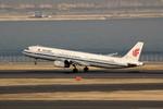 アイスコーヒーさんが、羽田空港で撮影した中国国際航空 A321-232の航空フォト(飛行機 写真・画像)