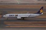 アイスコーヒーさんが、羽田空港で撮影したスカイマーク 737-8ALの航空フォト(飛行機 写真・画像)