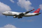 PINK_TEAM78さんが、成田国際空港で撮影したノースウエスト航空 747-451の航空フォト(写真)