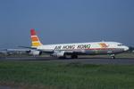 Scotchさんが、名古屋飛行場で撮影したエアー・ホンコン 707-321Cの航空フォト(写真)