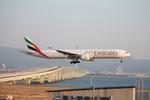 uhfxさんが、関西国際空港で撮影したエミレーツ航空 777-36N/ERの航空フォト(飛行機 写真・画像)