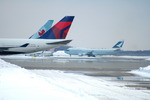WhiteRed8084さんが、新千歳空港で撮影したデルタ航空 747-451の航空フォト(写真)