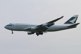 PINK_TEAM78さんが、成田国際空港で撮影したキャセイパシフィック航空 747-412(BCF)の航空フォト(飛行機 写真・画像)