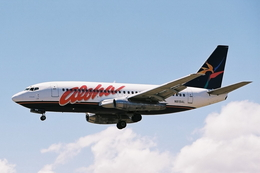 kinsanさんが、カフルイ空港で撮影したアロハ航空 737-25A/Advの航空フォト(飛行機 写真・画像)