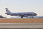 ふじいあきらさんが、広島空港で撮影した中国東方航空 A320-232の航空フォト(飛行機 写真・画像)