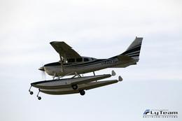 ロール堂島さんが、岡山空港で撮影した日本個人所有 T206H Turbo Stationairの航空フォト(写真)