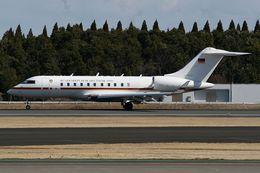 ヨルダンさんが、成田国際空港で撮影したドイツ空軍 BD-700 Global Express/5000/6000の航空フォト(飛行機 写真・画像)