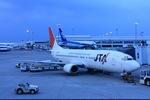 delawakaさんが、那覇空港で撮影した日本トランスオーシャン航空 737-4Q3の航空フォト(飛行機 写真・画像)