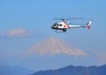 mojioさんが、静岡空港で撮影したつくば航空 AS350B Ecureuilの航空フォト(飛行機 写真・画像)