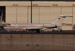木人さんが、成田国際空港で撮影したドイツ空軍 BD-700 Global Express/5000/6000の航空フォト(飛行機 写真・画像)