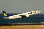 アイスコーヒーさんが、中部国際空港で撮影したスカイマーク 737-86Nの航空フォト(飛行機 写真・画像)