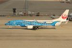 アイスコーヒーさんが、中部国際空港で撮影した日本トランスオーシャン航空 737-4Q3の航空フォト(飛行機 写真・画像)