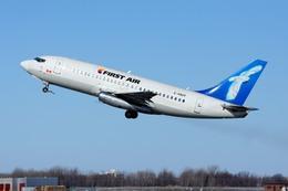 aircanadafunさんが、モントリオール・ピエール・エリオット・トルドー国際空港で撮影したファースト・エア 737-248C/Advの航空フォト(飛行機 写真・画像)
