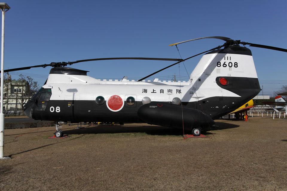 SGさんの海上自衛隊 Kawasaki V-107 (8608) 航空フォト