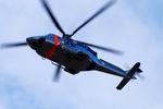 へりさんが、下総航空基地で撮影した警視庁 AW139の航空フォト(写真)
