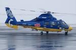 へりさんが、札幌飛行場で撮影した北海道航空 AS365N3 Dauphin 2の航空フォト(写真)