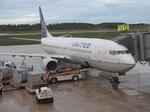 Dojalanaさんが、アントニオ・B・ウォン・パット国際空港で撮影したユナイテッド航空 737-824の航空フォト(飛行機 写真・画像)