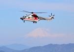 mojioさんが、静岡空港で撮影した朝日航洋 AS332L Super Pumaの航空フォト(飛行機 写真・画像)