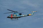 アイスコーヒーさんが、名古屋飛行場で撮影した岐阜県警察 412EPの航空フォト(飛行機 写真・画像)