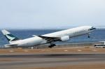 アイスコーヒーさんが、中部国際空港で撮影したキャセイパシフィック航空 777-267の航空フォト(飛行機 写真・画像)