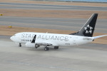 アイスコーヒーさんが、中部国際空港で撮影したユナイテッド航空 737-724の航空フォト(飛行機 写真・画像)