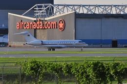 aircanadafunさんが、モントリオール・ピエール・エリオット・トルドー国際空港で撮影したドイツ空軍 BD-700-1A11 Global 5000の航空フォト(飛行機 写真・画像)