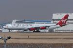 Scotchさんが、成田国際空港で撮影したヴァージン・アトランティック航空 A340-313Xの航空フォト(写真)