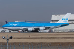 Scotchさんが、成田国際空港で撮影したKLMオランダ航空 747-406Mの航空フォト(飛行機 写真・画像)