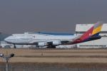 Scotchさんが、成田国際空港で撮影したアシアナ航空 747-48Eの航空フォト(写真)