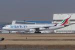 Scotchさんが、成田国際空港で撮影したスリランカ航空 A340-313Xの航空フォト(写真)