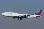 Scotchさんが、成田国際空港で撮影したデルタ航空 747-451の航空フォト(写真)