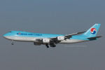 Scotchさんが、成田国際空港で撮影した大韓航空 747-8HTFの航空フォト(写真)