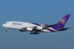 Scotchさんが、成田国際空港で撮影したタイ国際航空 A380-841の航空フォト(飛行機 写真・画像)